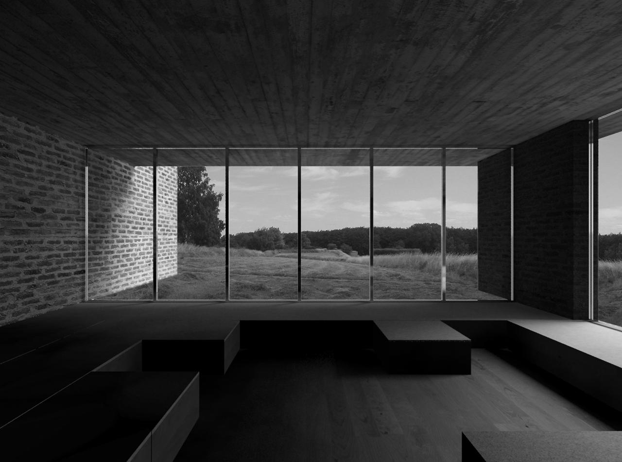 architektur meditation raum. Black Bedroom Furniture Sets. Home Design Ideas